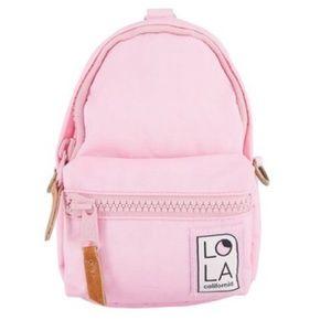 Lola Stargazer mini backpack peony pink